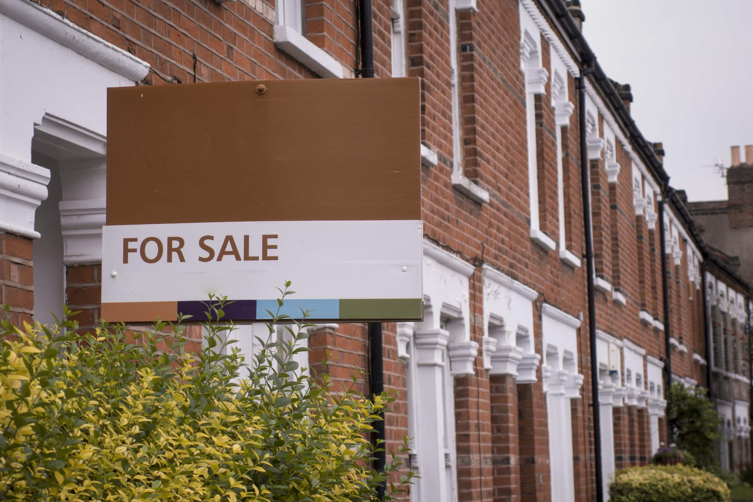 Estate Agent 'For Sale' sign board